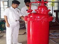 Inspection of SO-IV Fire Fighting