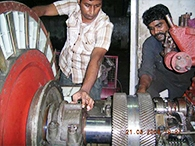 Inspection of Assembled FD Blowers
