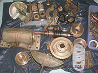 Steering Gear Console Unit Dismantled