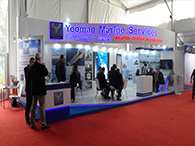 Yeoman Marine Services Stall At Defence Expo 2014