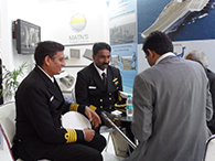 CAPT M L MATHEW, PD WEAPON EQUIPMENT, BEING EXPALINED YEOMAN'S ROLE IN WEAPON INSTALLATION IN THE INDIAN NAVY