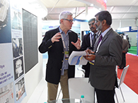 SHRIKRISHNA KAMAT, GM (FPG) OF GOA SHIPYARD LTD. BEING EXPALINED BY Mr. MARTIN STARKENBURG