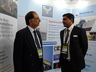 REAR ADMIRAL R K SHRAWAT (Retd), CMD MDL, WITH Mr DHANANJAY MISHRA, MD