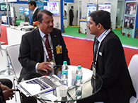 REAR ADMIRAL N K MISHRA (Retd), CMD, HSL EXPALINED HIS VISION OF HSL TO Mr DHANANJAY MISHRA, MD