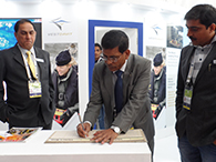 REAR ADMIRAL A K VERMA (Retd), CMD, GRSE SIGNED  THE VISITORS' BOOK