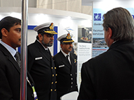 VICE ADMIRAL AV SUBEDHAR SHOWED KEEN INTEREST IN DAVITS FROM MS VEST DAVIT, NORWAY